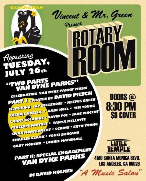 Rotary Room Flyer