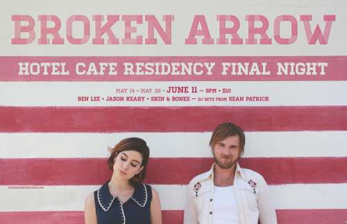 Broken Arrow_hotel cafe_june11