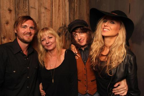 Me, Silvia Ryder, Jeff McElroy & KCRW's Valida Carroll at H&S